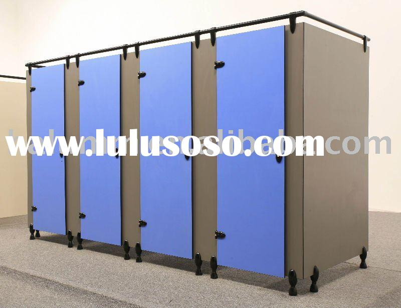 Nuowa Toilet Cubicles, HPL panel with aluminum accessories, waterproof, fire-resistant