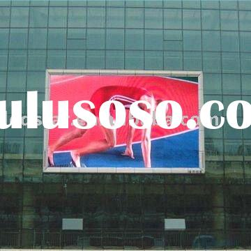 P20(2R1G1B) outdoor led electronic sign full color