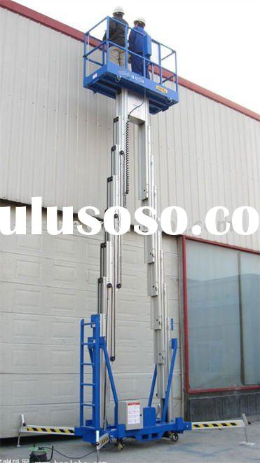 Pair mast aluminum lift
