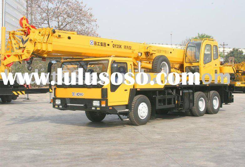 QY25K mobile crane with CE, XCMG QY25K fully hydraulic truck crane