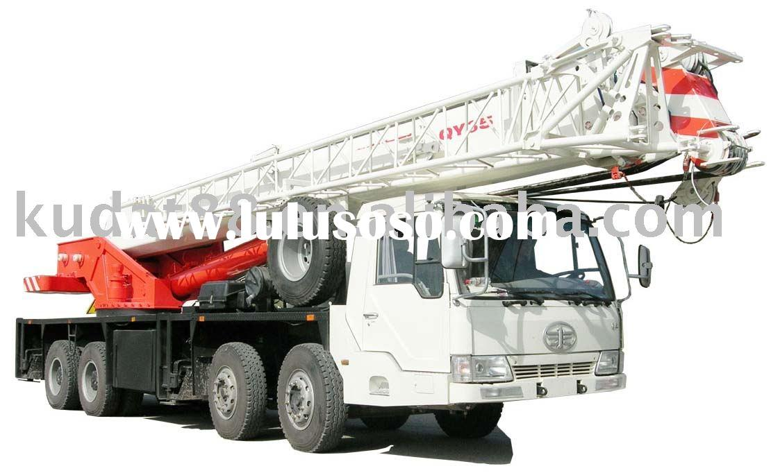 QY35F full hydraulic mobile crane, 35 ton max. lifting weight mobile crane