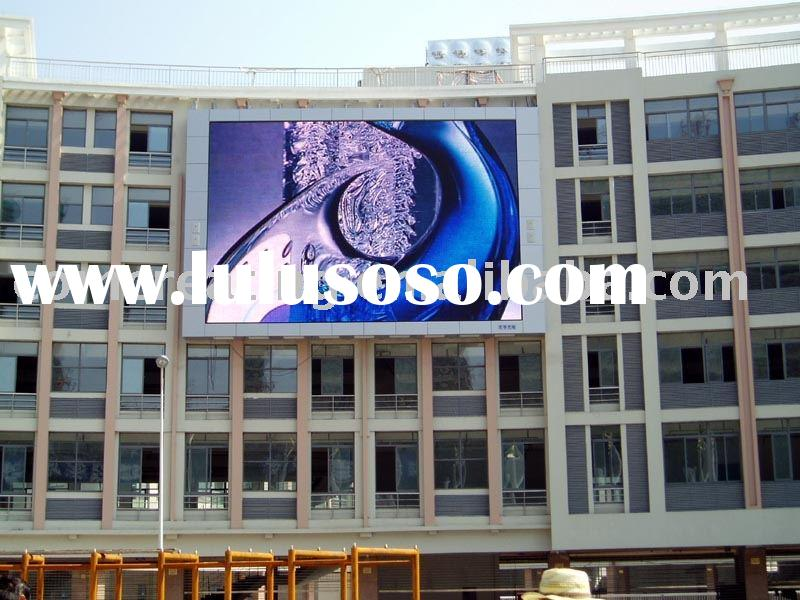 Rich Color Outdoor Electronic LED Sign with Low Power Consumption