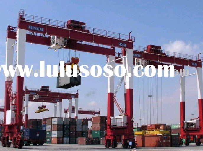 Rubber Tyred Gantry Cranes Translate : Rubber tyred gantry crane rtg for sale price