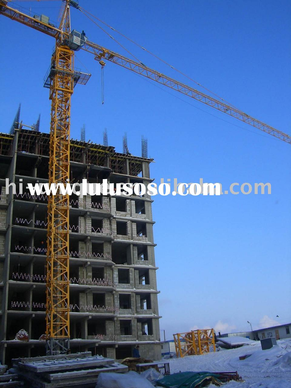 Self-erection Tower Crane
