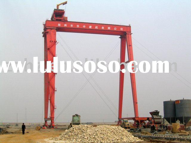 Trolley Gantry Crane used in ship-building yard
