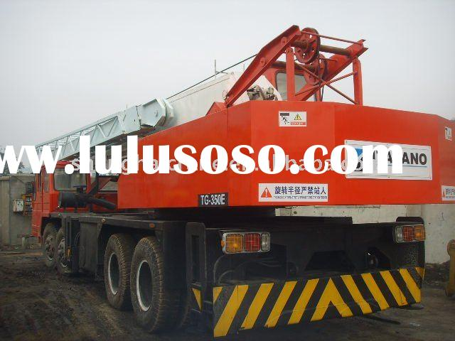 Used Crane 35T Used truck crane/ TADANO/ TG350E/ Japan/ Good used