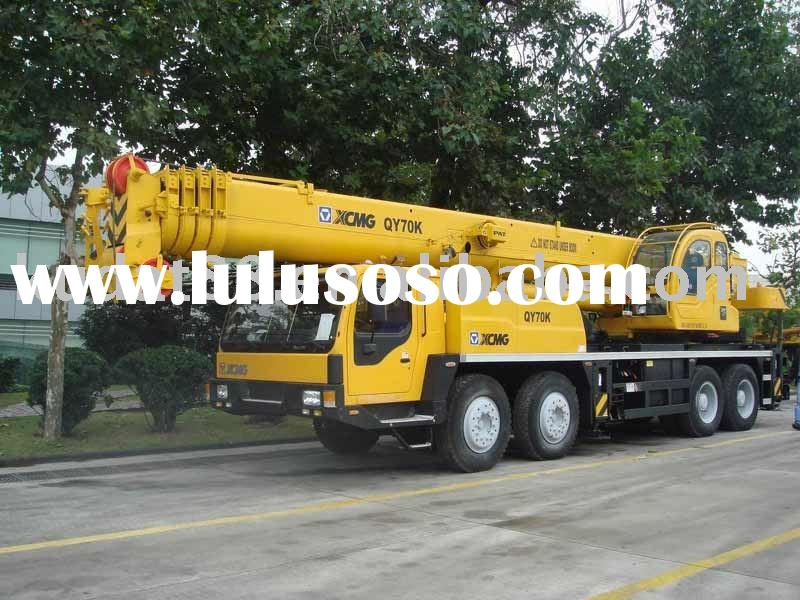 XCMG QY70K fully hydraulic truck crane (70 ton mobile crane)