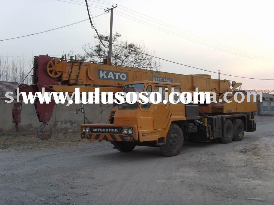 crane for sale kato nk250 used 25ton truck crane mobile crane hydraulic crane