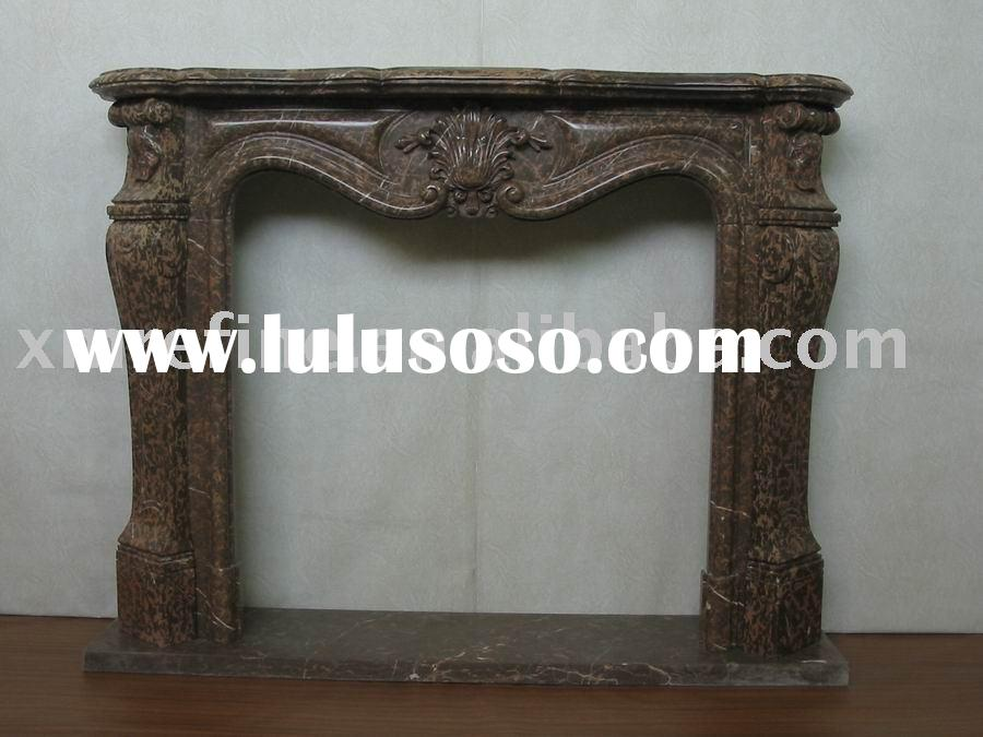decorative marble fireplace