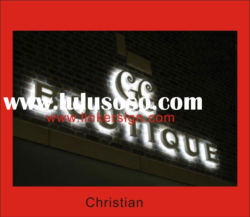 outdoor used Backlit LED signs