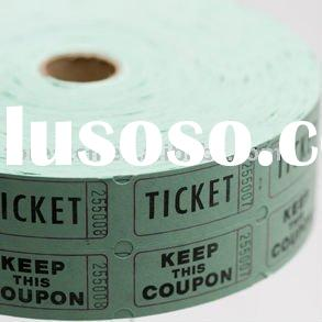 paper ticket roll printing