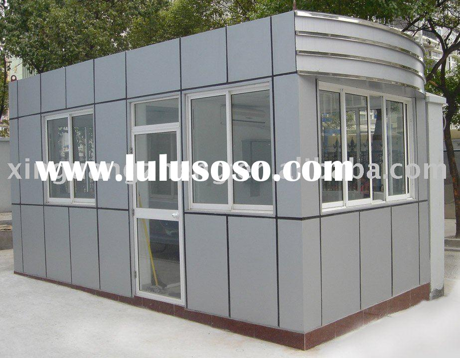 prefabricated light steel structure house unit