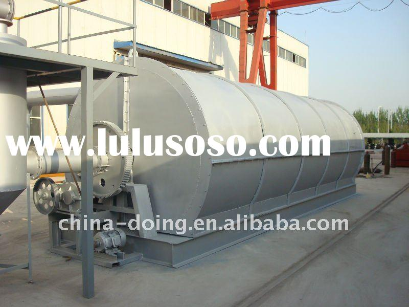 safety,Long service life of pyrolysis tire recycle plant