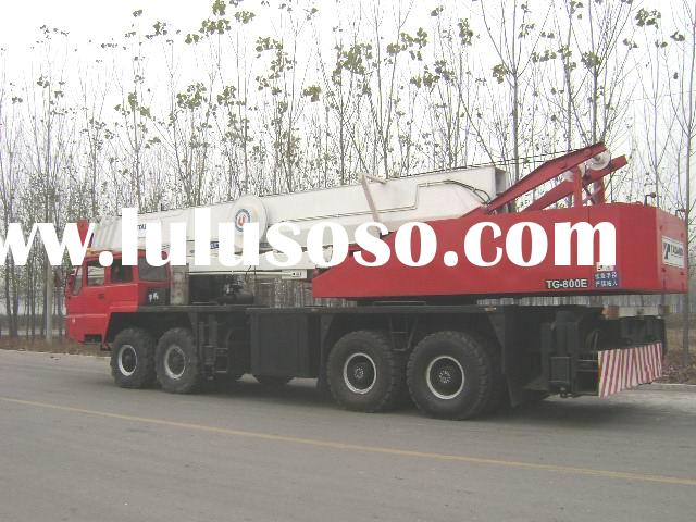 sales offer used TADANO TG800E truck crane 80 ton mobile crane