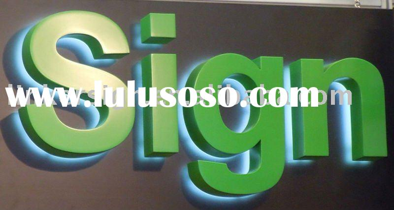 supper bright back light cheap led signs