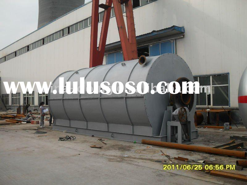 the 4th generation of machinery used to recycling waste plastic