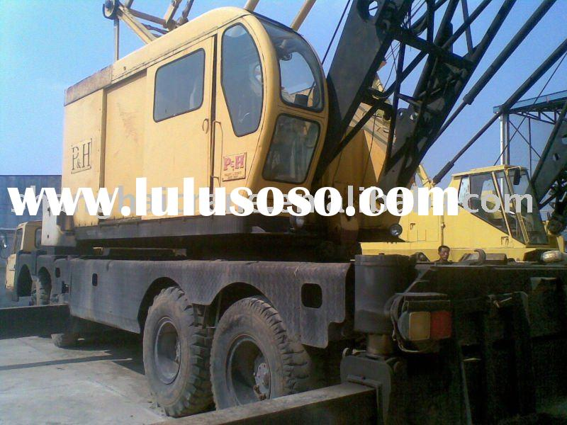 used crane KOBELCO 670 70 ton Lattice Boom truck crane