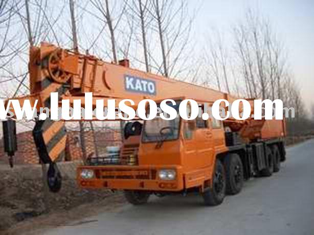 used truck crane Japan original Kato hydraulic mobile 35ton NK350E
