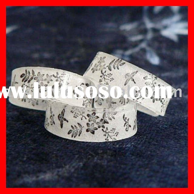2011 fashion plastic wedding rings