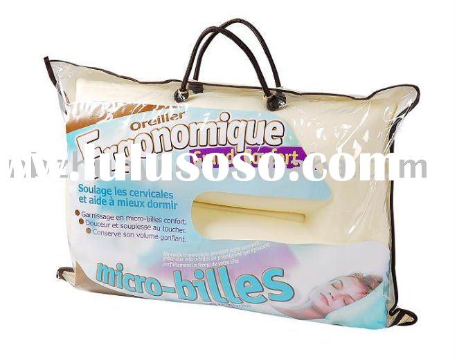 Bedding microbead pillow/polystyrene bead pillow/Spandex pillow/Snow bead pillow