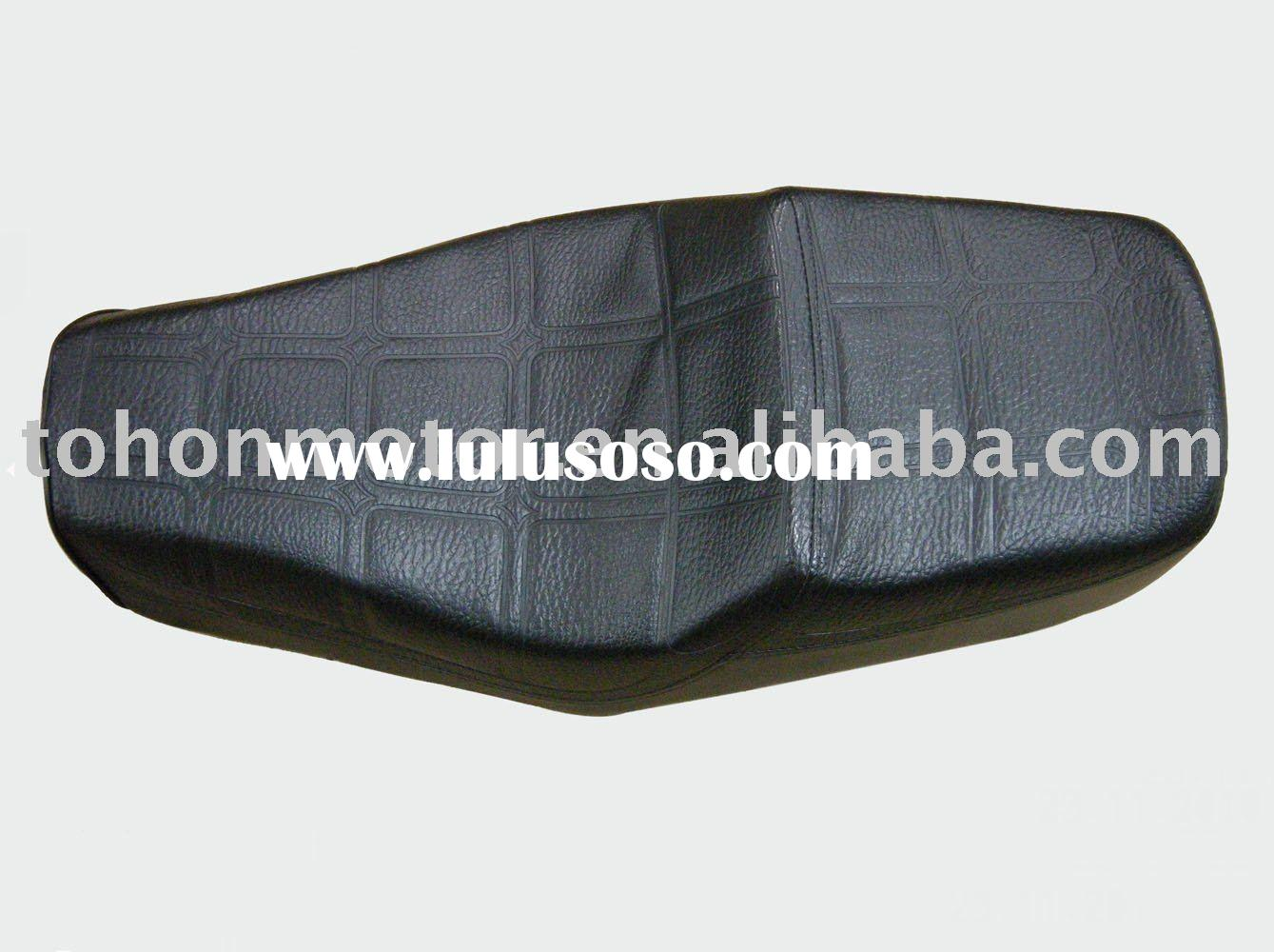 CUSHION FOR MOTORCYCLE 125KT, leather, foam or plastic material