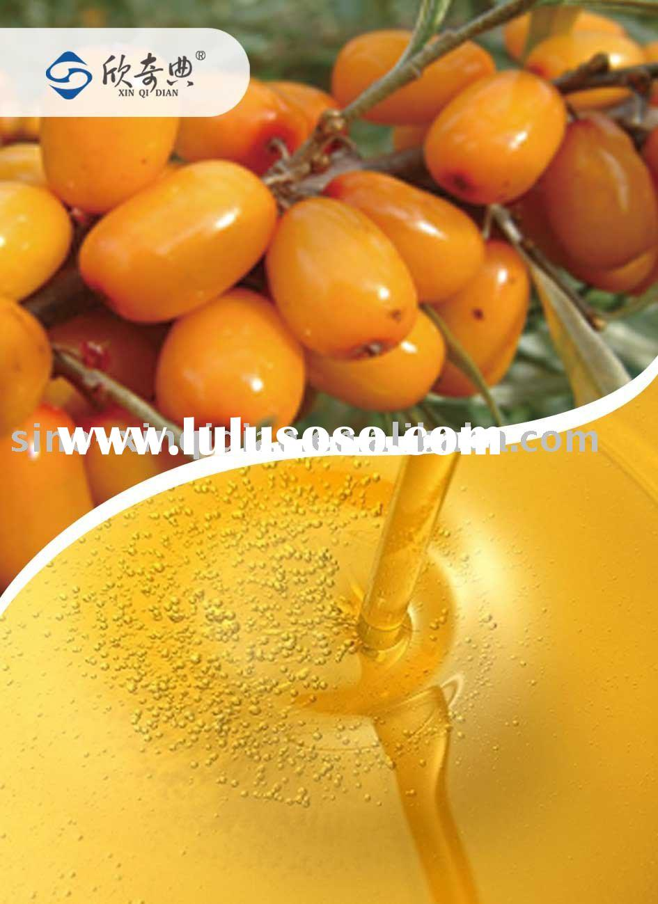 Organic sea buckthorn fruit oil by CO2 extraction