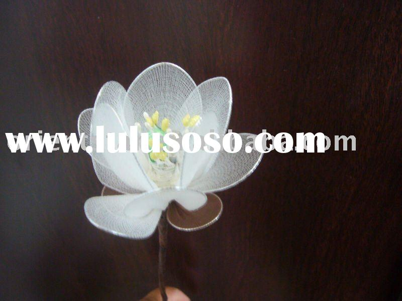 Silk Stocking LED Flower LightOS-STL-04(White Magnolia)