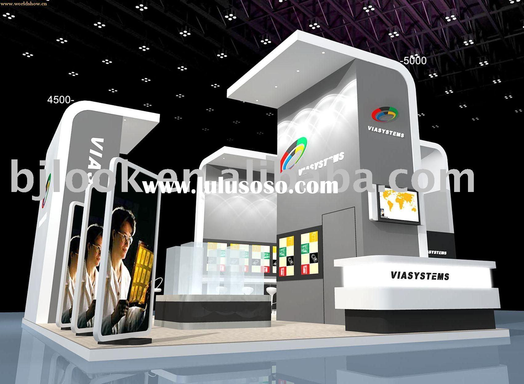 Exhibition Stand Design Price : Exhibition booth stand design from professional