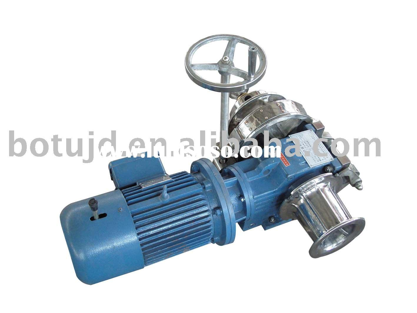 marine electric anchor windlass