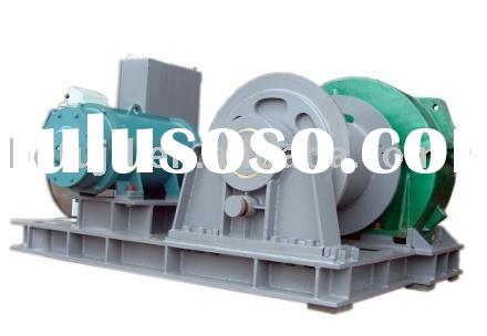 marine electric mooring anchor winch