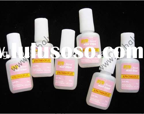10g Nail Glue False Tips Acrylic Nail Art With Brush