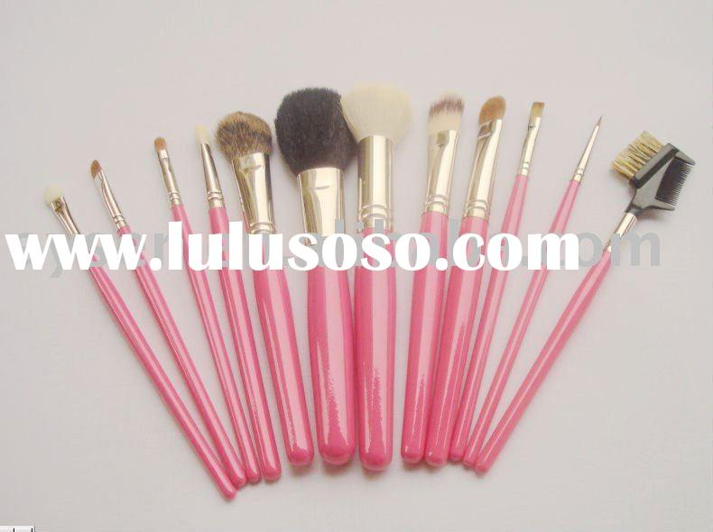 12-pc Makeup brush set