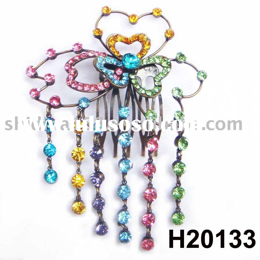 2011 Latest fashion rhinestone vintage hair accessories