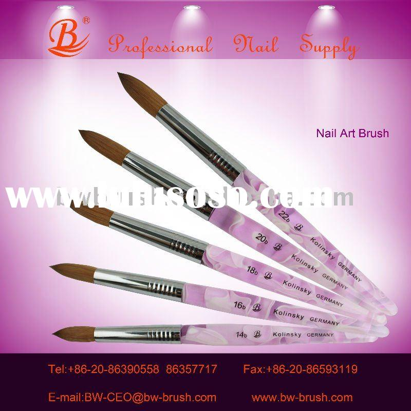 2011 New Acrylic Nail Art Brush In Full Size Wholesale