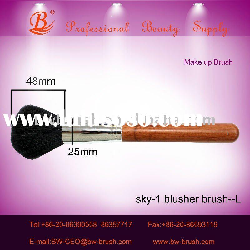 2011 new best quality goat hair makeup brush for beauty