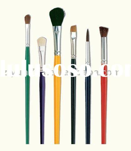 Assorted Natural Artist Brushes
