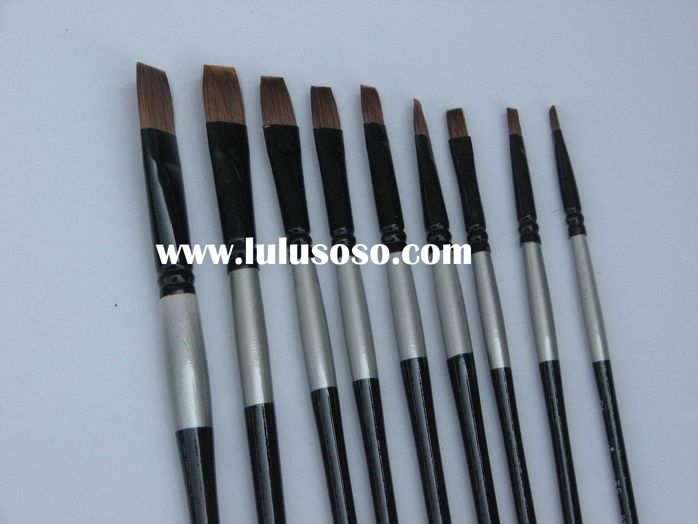 Best quality Weasel hair Paint brushes