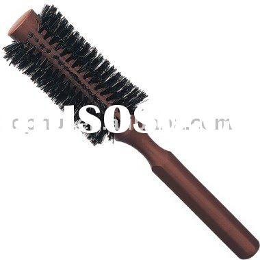 Boar Bristle Hair Brush with 100% Wood