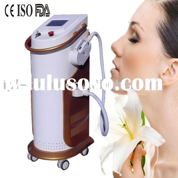 CE FDA approved Vertical IPL Hair Removal beauty machine