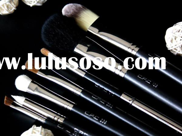 C.p.c 7pcs Essential Makeup Brushes Set For Beginners makeup Brushes Face Set+brush Roll
