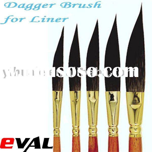 Camel Hair Dagger brush for Oil Painting