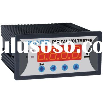 DC voltmeter 96*48 can add functions panel meter
