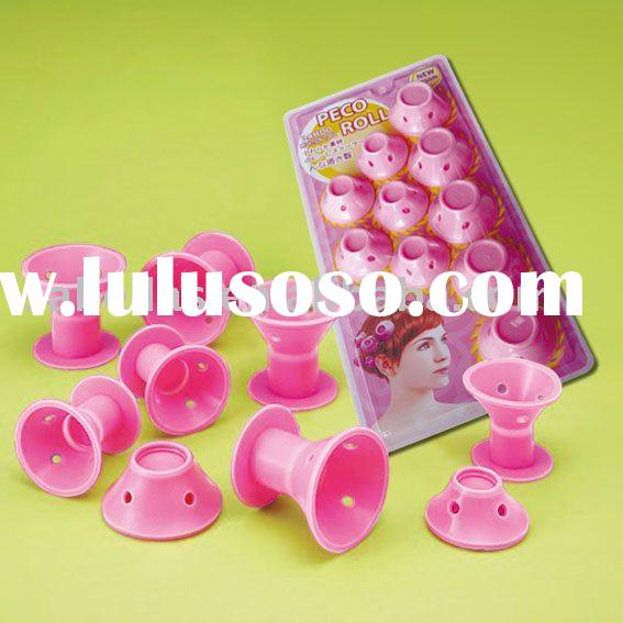 DIY 10 JAPAN Design Soft Hair Care Rollers Curlers PECO ROLL