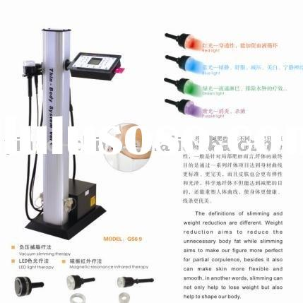 GS6.9 Infrared Magnetic+Vacuum+PDT Body Slimming Beauty Instrument