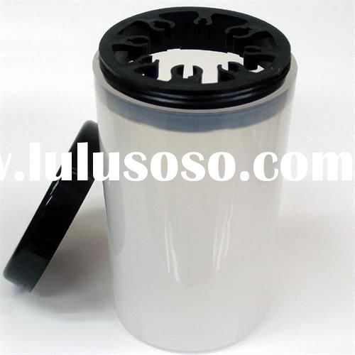 Nail UV Acrylic Pen Brush Holder Cleanser Cup Bottle