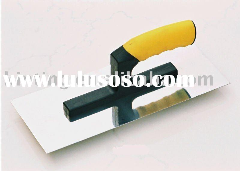 Plastering Trowel Rubber-Plastic Handle,Stainless Steel KT-A3065