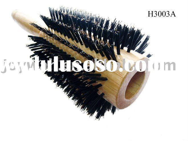 Round Boar Bristle Hair Brush