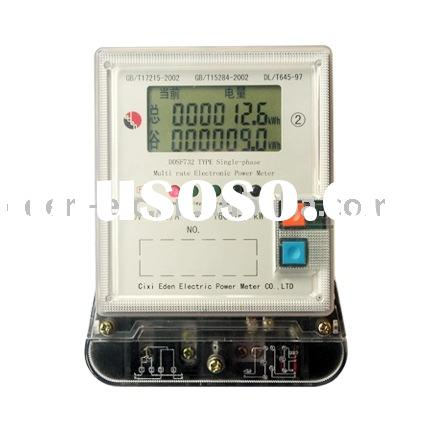 Single Phase Electric Energy Meter