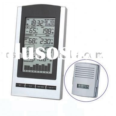 Weather Station with Outdoor Temperature Sensor