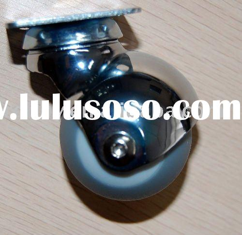 ball chair caster (plastic caster for sofa, bed, or simply outside tables)